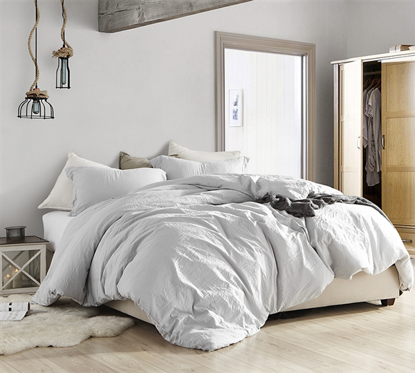 Essential Super Soft King Comforter Extra Thick Natural