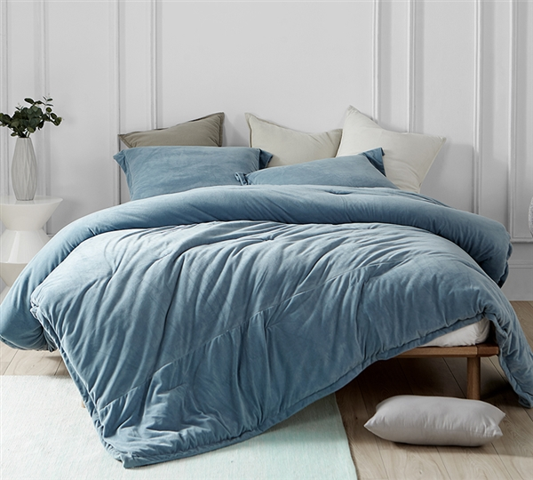 Blue Queen Xl Comforter Most Comfortable Extra Large Queen
