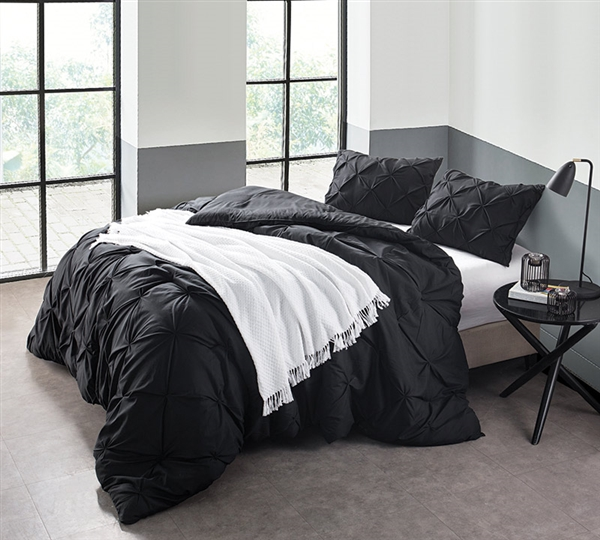 Black Full Comforter For Full Size Bed Comforter Oversized