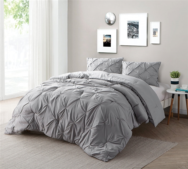 Find Xl King Size Bed Comforters Alloy Gray Bedding In