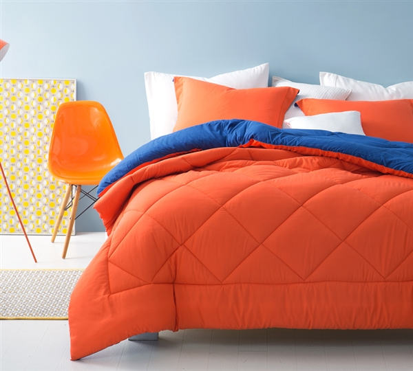 Blue Orange Twin Xl Comforter