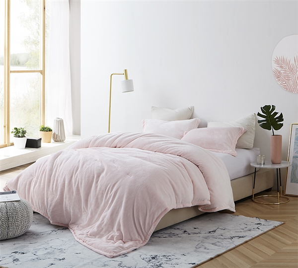 Light Pink King Comforter Ultra Cozy And Super Soft