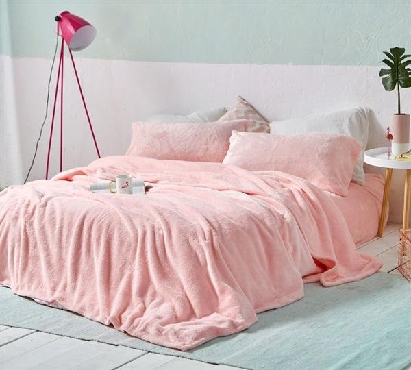 One Of A Kind Twin Extra Long Queen And King Rose Quartz Sheet Set