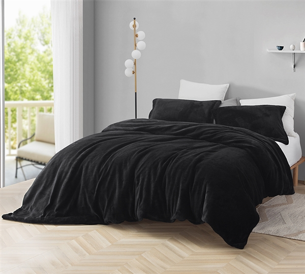 Black King Duvet Oversized Plush King Xl Duvet Cover