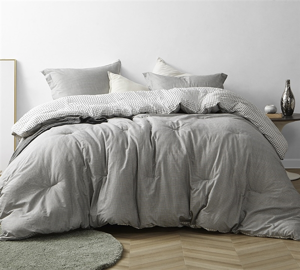 Most Comfortable Textured Queen Le Blanc Comforter Ultra