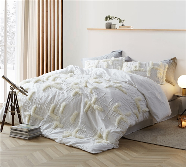 Southern Alps Textured King Comforter Oversized King Xl